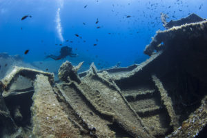 Diving Vacations in Andros Island