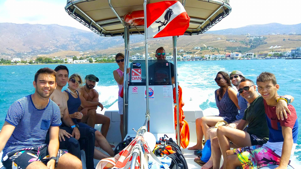 Boat trips in Andros