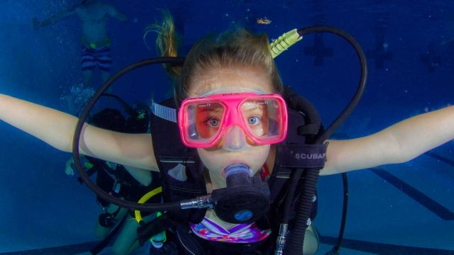 Scuba diving for kids